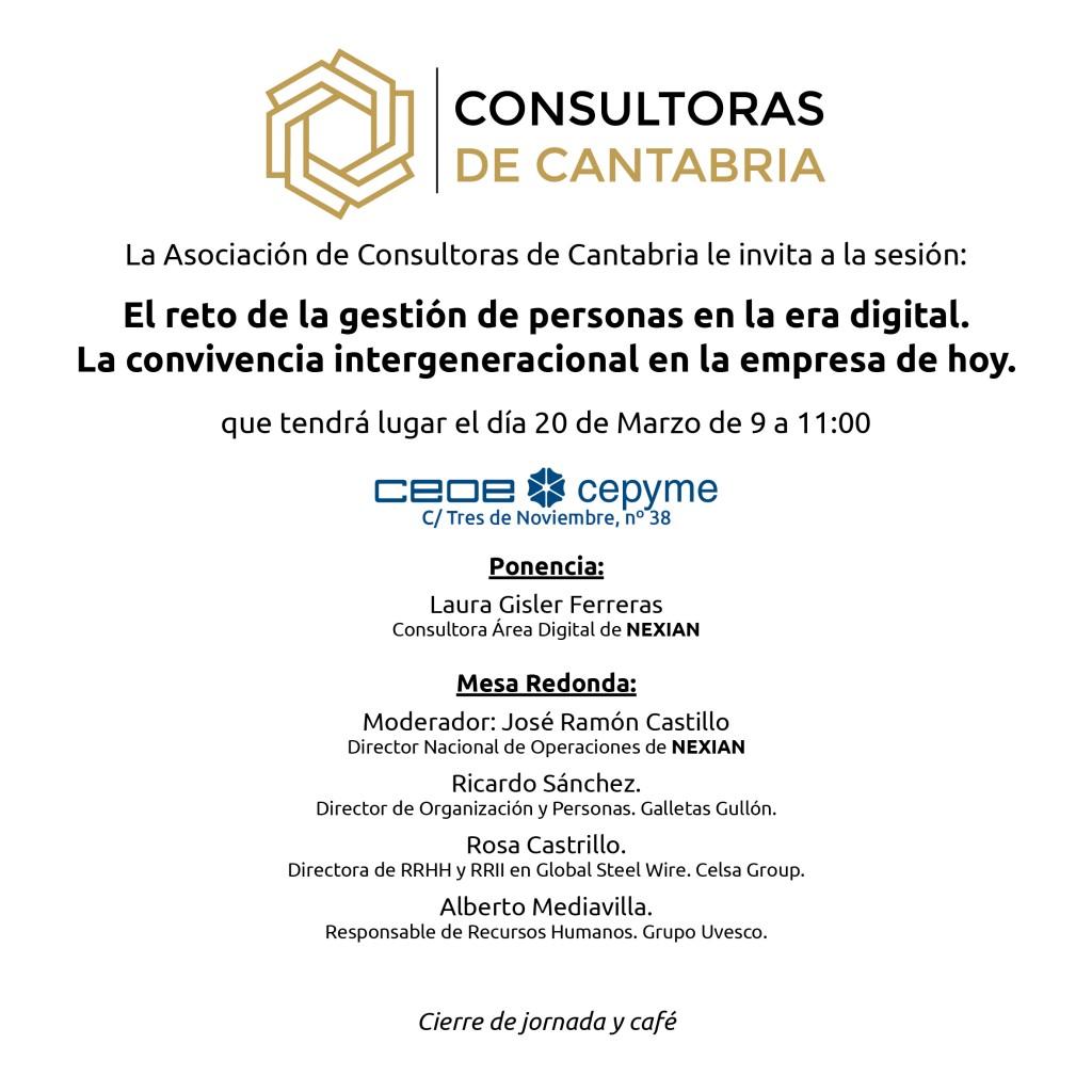 Sesión Consultoras 20 de Marzo